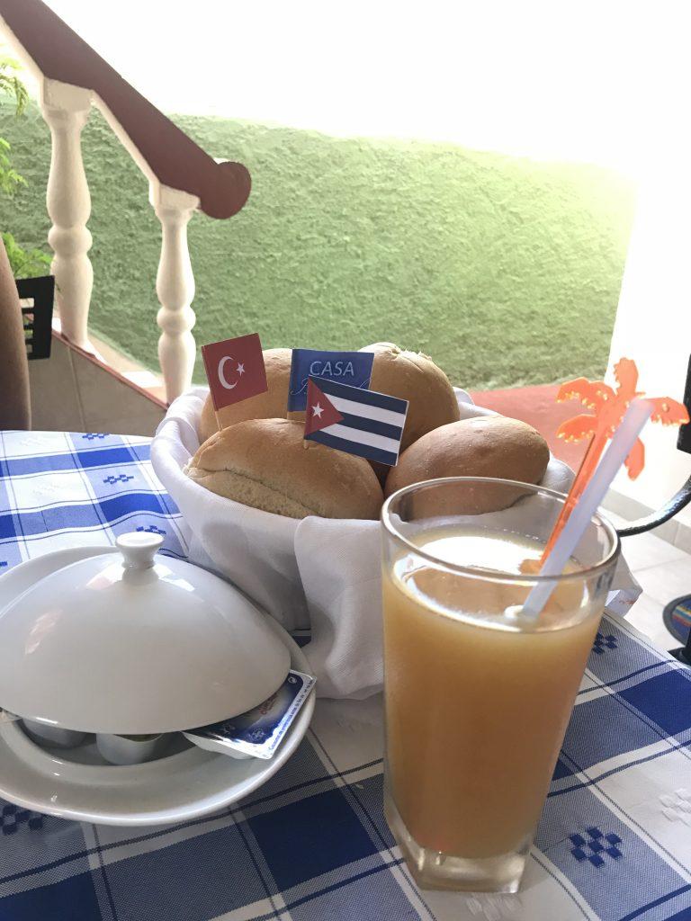 Isora'nın kahvaltı sürprizi
