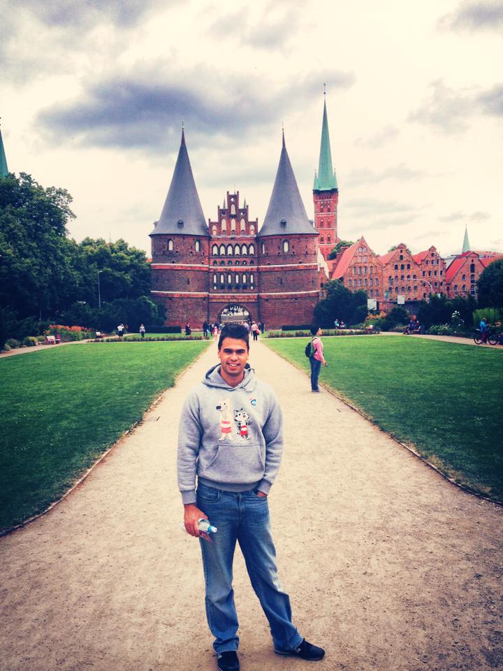 Lübeck şehir kapısı